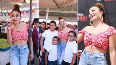 Picante, sonriente y con buena vibra: La Bronca recorrió la Pulga de San José