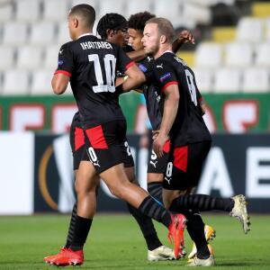 Reaccionó el PSV y ya empató pese al golazo del Omonia