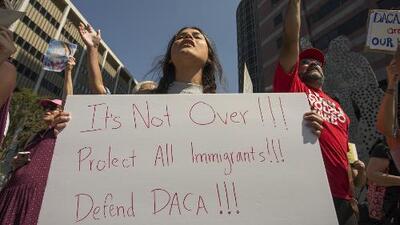 ¿Qué sucederá con los dreamers que no hayan tramitado su renovación de DACA?
