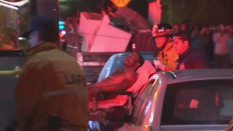 Una persona resulta herida tras un tiroteo que desató el pánico en el sur de Los Ángeles