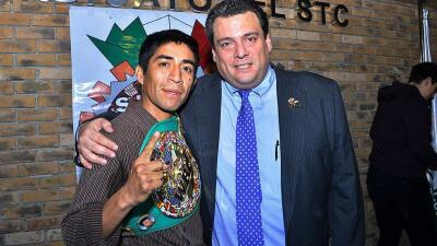 Ganigan López es designado boxeador del mes de abril del CMB
