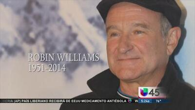 Lamentan la muerte de Robin Williams