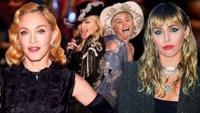 Madonna sale en defensa a Miley Cyrus tras negar que su matrimonio terminó por una infidelidad