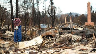 'Área de la Bahía en un Minuto': Pérdidas por incendios en California superan los 1,000 millones de dólares