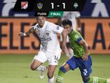 Chicharito reaparece con gol en el empate del LA Galaxy
