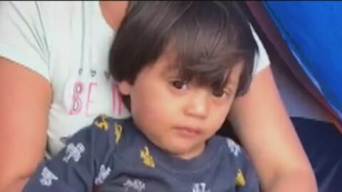 Este niño fue herido de bala en Nicaragua cuando tenía 18 meses y ahora pide, con su familia, asilo en EEUU
