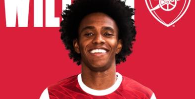 Oficial: Arsenal anunció la llegada de Willian
