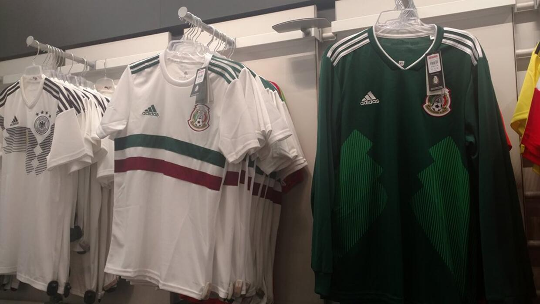 Filtran el segundo uniforme de México para el Mundial de Rusia 2018 ... d0ddb004f8147