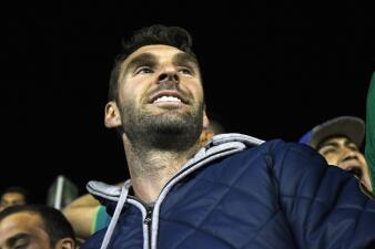 Mauro Boselli pasó a despedirse de los aficionados que le dieron cariño de 2013 a 2018