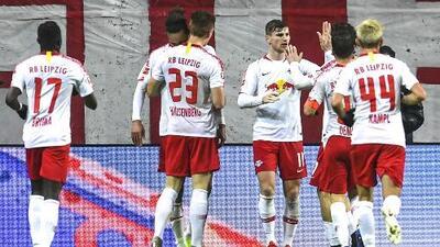 Con Timo Werner como figura, resumen y goles del triunfo del Leipzig 2-0 sobre el Monchengladbach