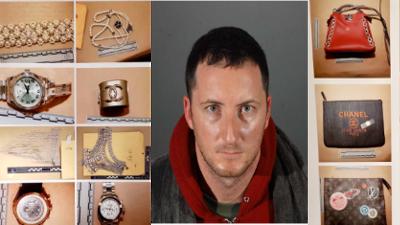 LAPD recupera millonario botín robado a celebridades en Hollywood Hills