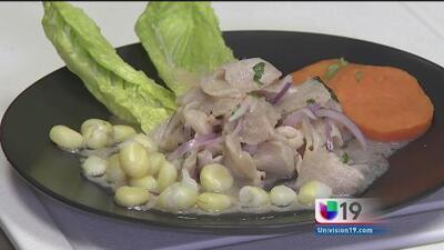 Una probadita: aprenda a preparar un delicioso ceviche peruano