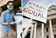 Tiene 25 años, es abiertamente bisexual y será el legislador más joven de California en su historia reciente