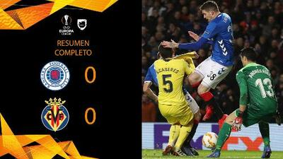 Rangers 0-0 Villarreal - RESUMEN - Grupo G - UEFA Europa League
