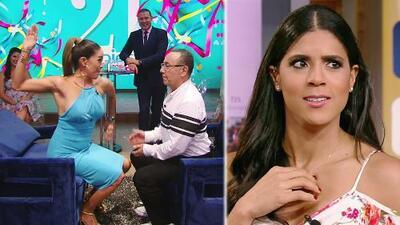DAEnUnMinuto: Karla demuestra que sí sabe dar cachetadas, y Francisca confiesa que no besaría a Maluma