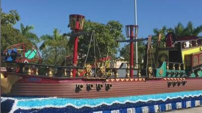 Así avanzan los preparativos de las carrozas para el 'Desfile de los Tres Reyes Magos' de este domingo