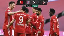 Bayern despedaza al Colonia y sigue firme en la cima