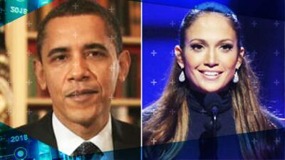Recordamos cuando Obama y JLo aparecieron en Premio Lo Nuestro para celebrar la música latina (y hablando español)