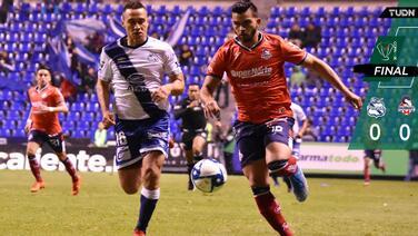 Puebla y Cimarrones no pasan del empate y se van de la Copa MX