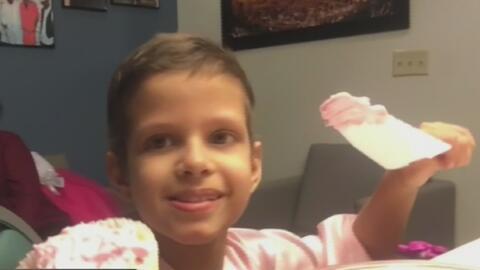 Lucía, de 7 años, deja a un lado su enfermedad para cumplir un sueño: bailará en The Nutcracker