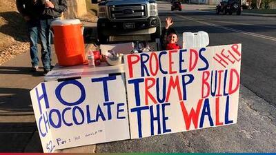 """""""El pequeño Hitler"""": así le llaman al niño de 7 años que quiere construir el muro"""