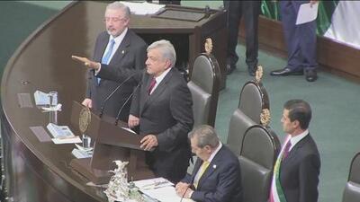 Andrés Manuel López Obrador rinde protesta como nuevo presidente de México