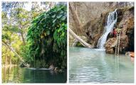 """""""Madre naturaleza"""" cambia la estructura de famosa cascada en el centro de Texas"""