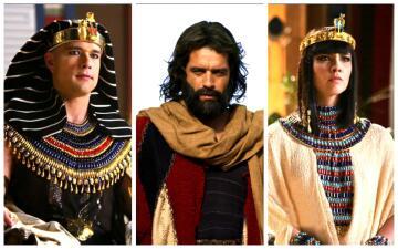 Recuerda a los personajes principales de 'Los diez mandamientos'