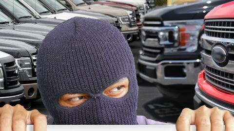 Entérate cuáles son los autos más buscados por los ladrones