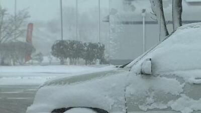 Una tormenta invernal, en plena primavera, afecta a Chicago y sus alrededores