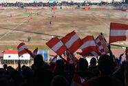 Aficionados de Alepo asistieron al primer partido de fútbol disputado en años