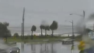 Desde Wilmington en espera de la llegada del huracán Dorian