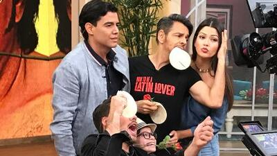 Eugenio Derbez se enfrentó a Ana Patricia en 'el juego de tortillazo'. ¿Quién ganó?