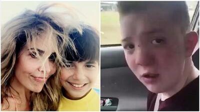 El caso del niño viralizado por acoso sigue generando apoyos, ahora fue el hijo de Gloria Trevi