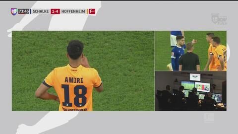 El VAR lo confirma y el Hoffenheim consigue su cuarto gol ante el Schalke