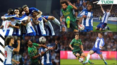 Goleada de Porto al Famalicao lo mantiene como líder en la Liga de Portugal