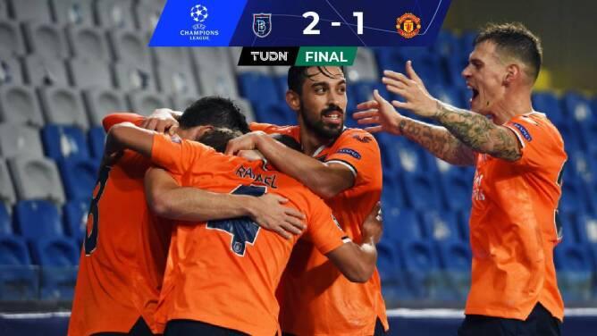 ¡Sorpresa! Istanbul derrotó al Manchester United