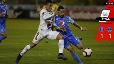 Motagua sale vivo de El Salvador en la Concacaf League
