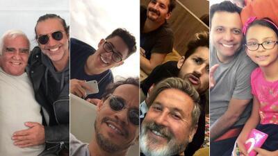 Casa llena: los artistas famosos con familias numerosas