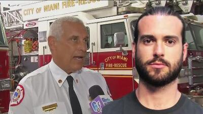 Los reveladores detalles de los bomberos que rescataron al hombre que Pablo Lyle golpeó