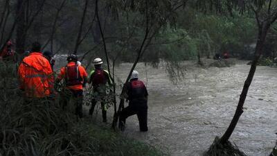 Tormenta tropical Fernand causa severas inundaciones y deslaves en México