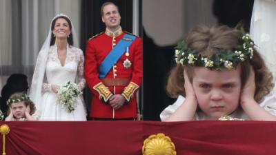 Mira cómo ha crecido la niña de los memes de la boda de Kate Middleton y el príncipe William
