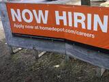 Las solicitudes de subsidios por desempleo bajan a 498,000, el mínimo registrado desde marzo de 2020