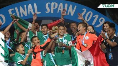 México se alza como campeón del mundo en torneo Sub-13