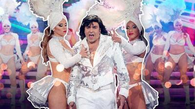 """El """"incalificable"""" estilo de Albertano para cantar y bailar al ritmo de 'Macumba'"""