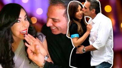 Retrojueves: Gelena Solano recordó el día de su compromiso con su príncipe azul