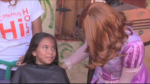 Maratón de donaciones de cabello para niños que están bajo tratamiento de cáncer