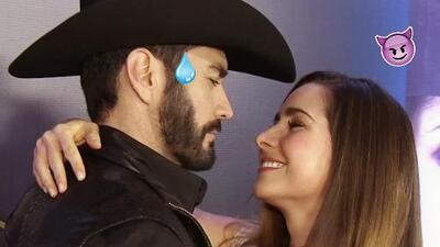 David Zepeda se ponía nervioso al grabar las escenas de pasión con Ariadne Díaz