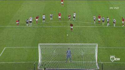 De penal, Kevin Danso pone el empate 1-1 ante Alemania