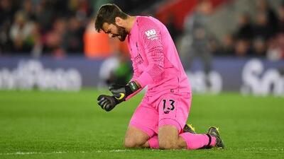 Alisson Becker destacó que Liverpool haya mantenido el cero en su arco